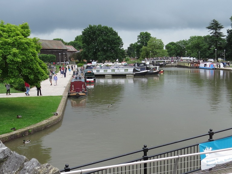 Barges on theAvon
