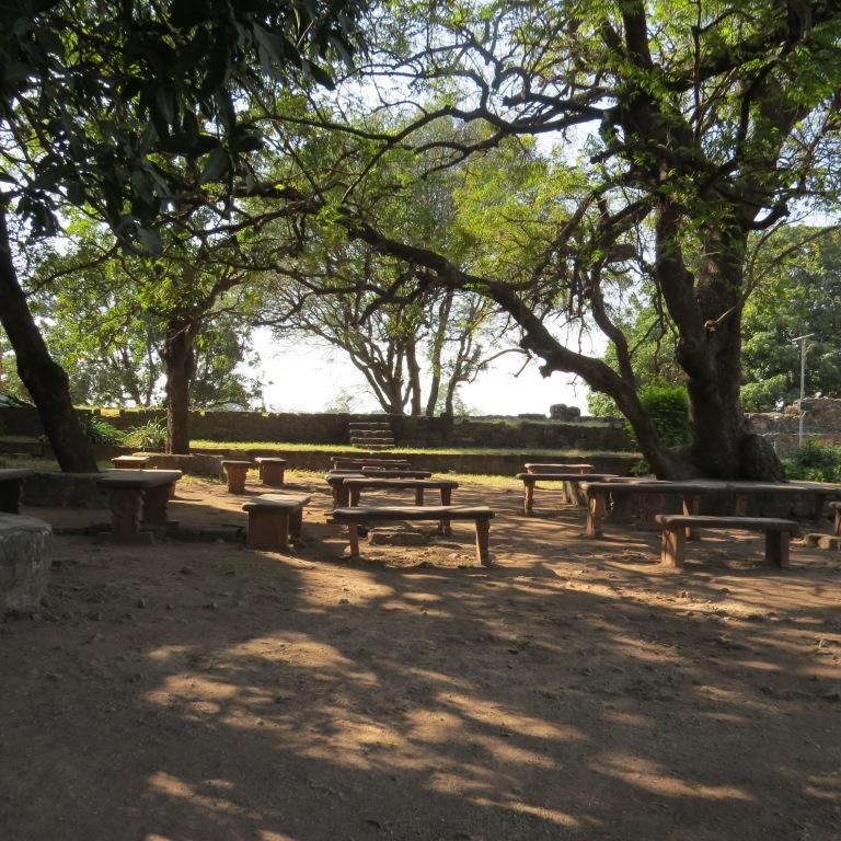 Gardens in Jahaz Mahal