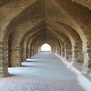 A corridor in Rani Roopmati's Pavilion