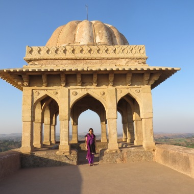 Top of Rani Roopmati's pavilion